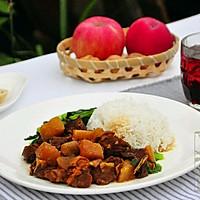 萝卜焖羊肉饭#每道菜都是一台食光机#