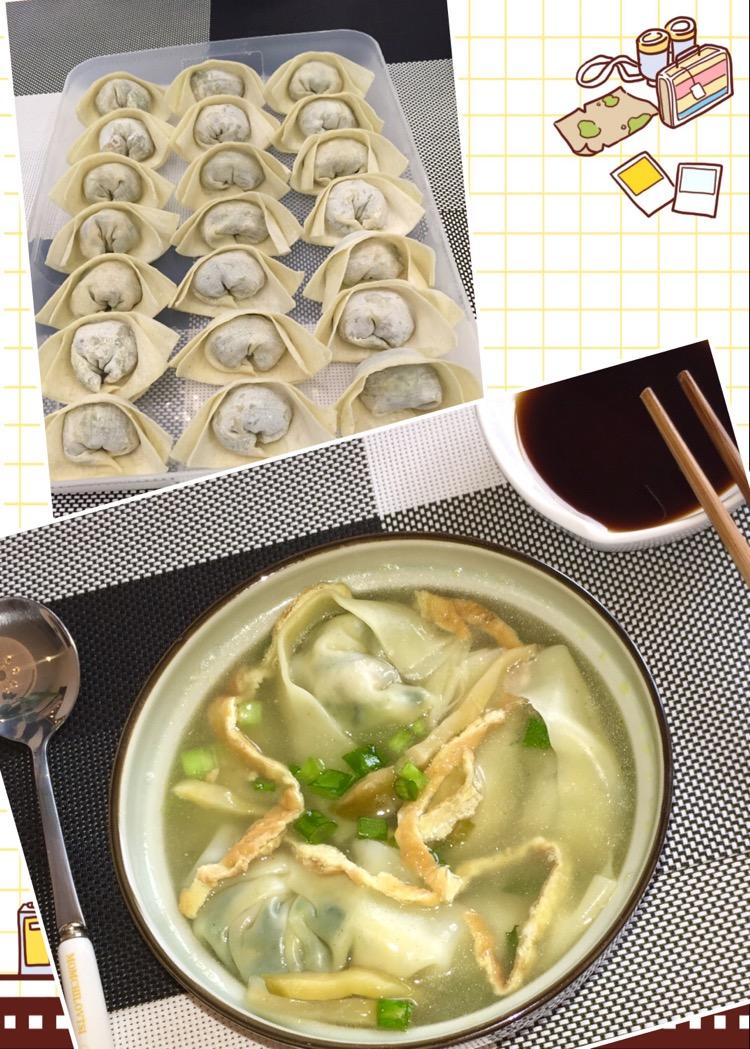 葱花少许 虾皮或开洋少许 蔬菜馄饨(附包馄饨手法)的做法步骤 小贴士