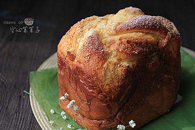 【奶酥吐司】——面包机吐司也能如此销魂