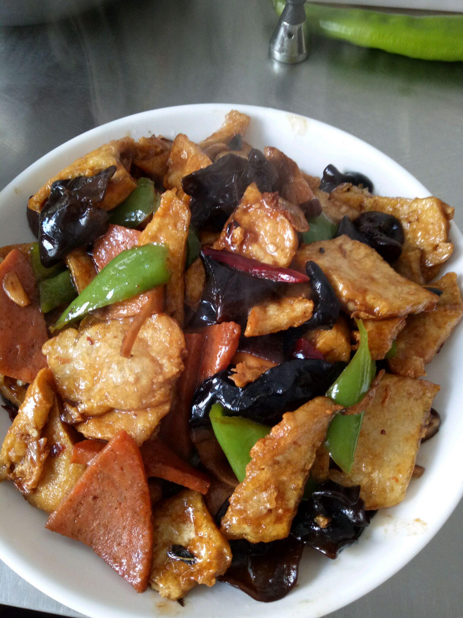 家常溜豆腐的牛排图解6做法韩式料理食谱图片