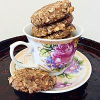 低脂减肥零食—香蕉燕麦饼干
