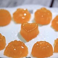 超简单自制橙汁软糖