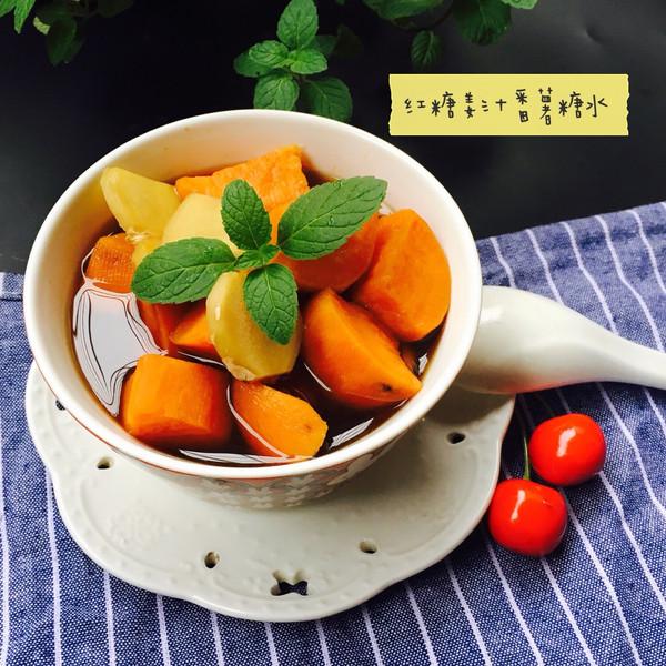 广东红糖姜汁番薯糖水