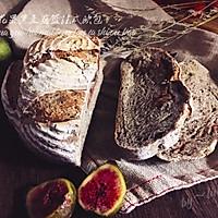 无花果黑麦藤篮法式欧包#kitchenaid的美食故事#