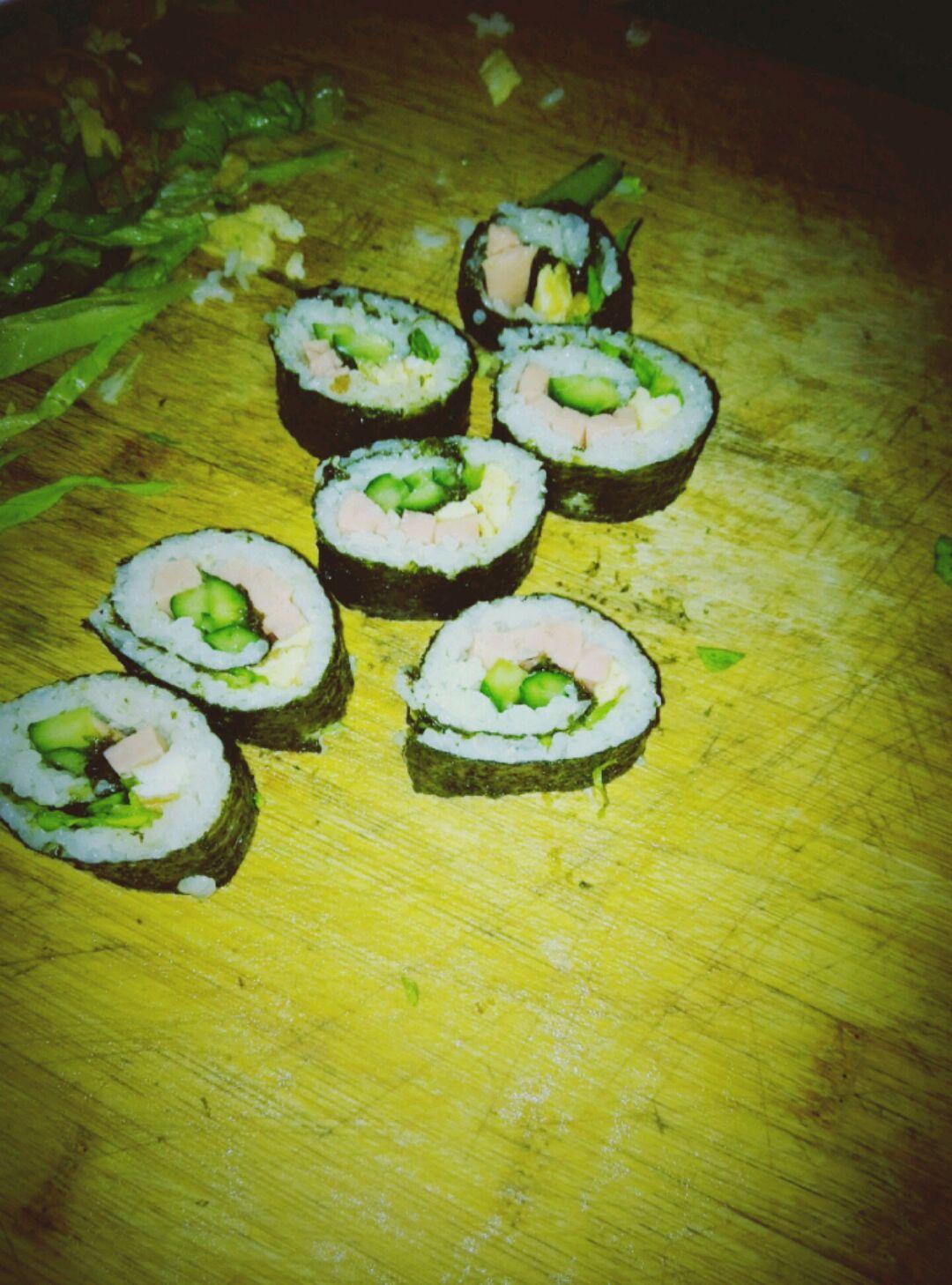 简单寿司的做法图解4