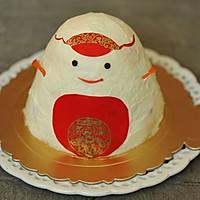 雪人小蛋糕