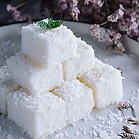 完胜85度C,最适合宝宝的健康零食——椰蓉牛奶小方