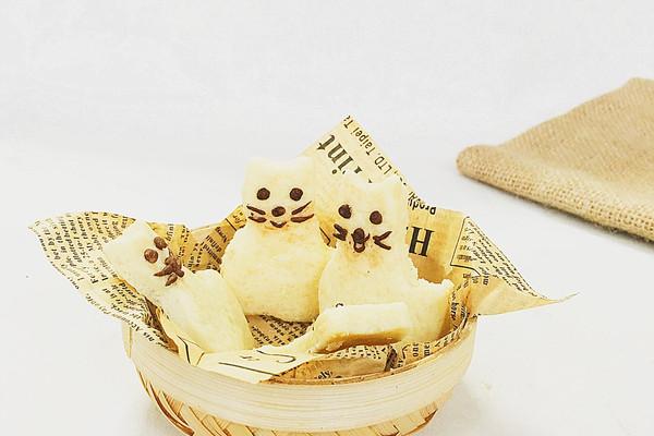 猫咪卡通饼干#最萌缤纷儿童节#的做法