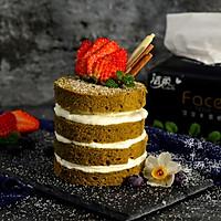 抹茶奶油蛋糕#洁柔食刻,纸为爱下厨#