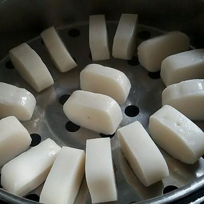 椰香蒸年糕图片