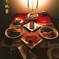 如何准备一桌烛光晚餐