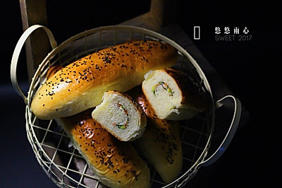 香葱火腿咸味包