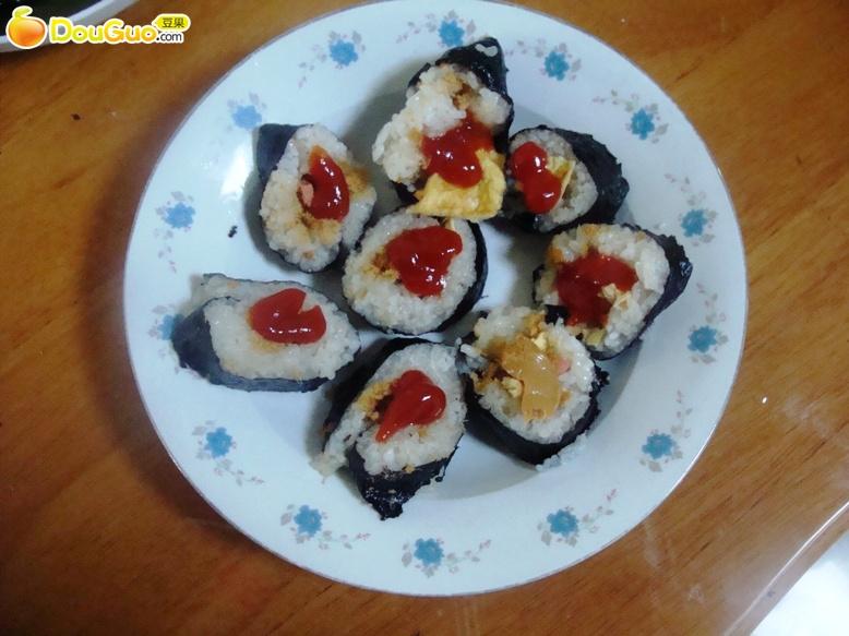 家常寿司的做法_【图解】家常寿司怎么做如何做好吃