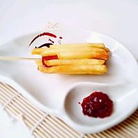 薯条包火腿——构思小吃