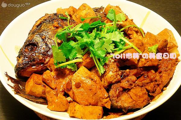 酱烧鱼豆腐的做法