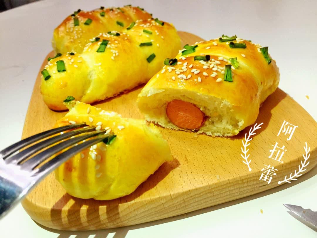 热狗面包卷的做法图解12