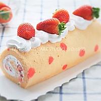 【番茄配方】圣诞草莓蛋糕卷——酸酸甜甜的圣诞美食