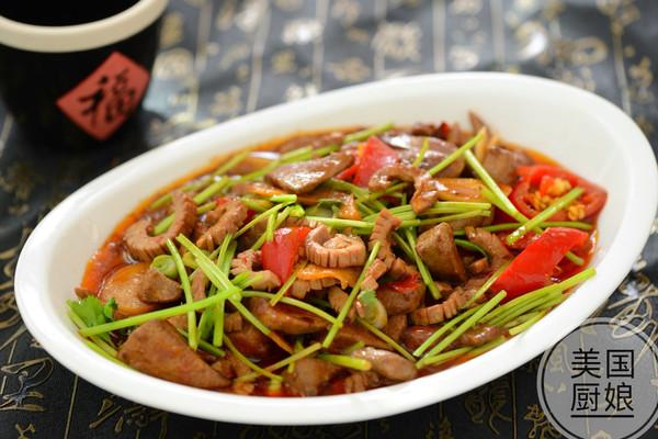 美味下饭菜-肝腰合炒的做法