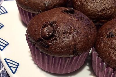 香蕉巧克力蛋糕「无油低糖烘焙」