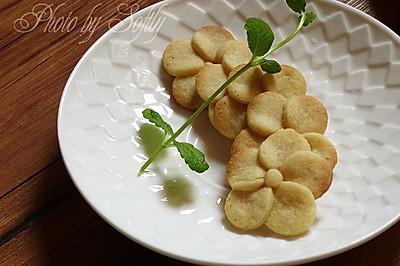 #东菱电子烤箱#之花朵饼干