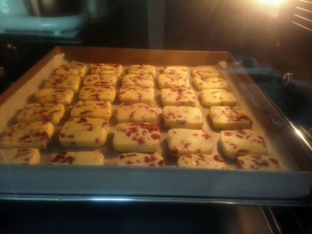 蔓越莓饼干的做法图解12