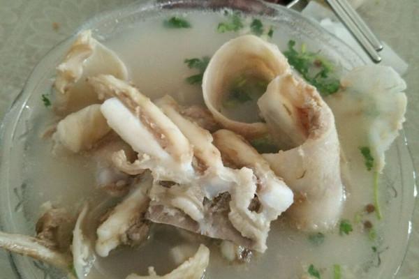 清真羊汤的做法