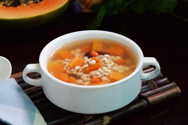 薏米红枣木瓜甜汤#美的养生壶#的做法