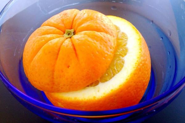 止咳秘籍:盐蒸红橙的做法