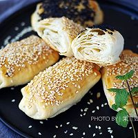 白鲨面粉试用之黄桥酥烧饼#KitchenAid的美食故事#