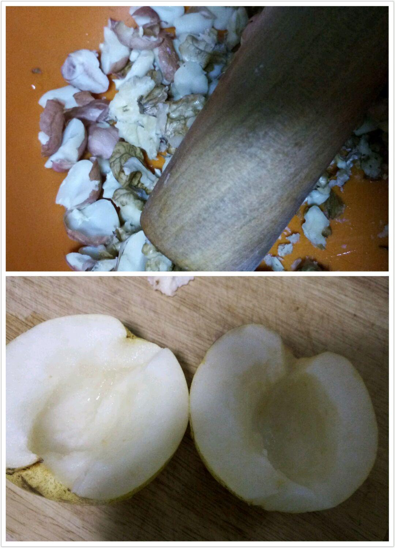 坚果烤蜜梨的做法步骤