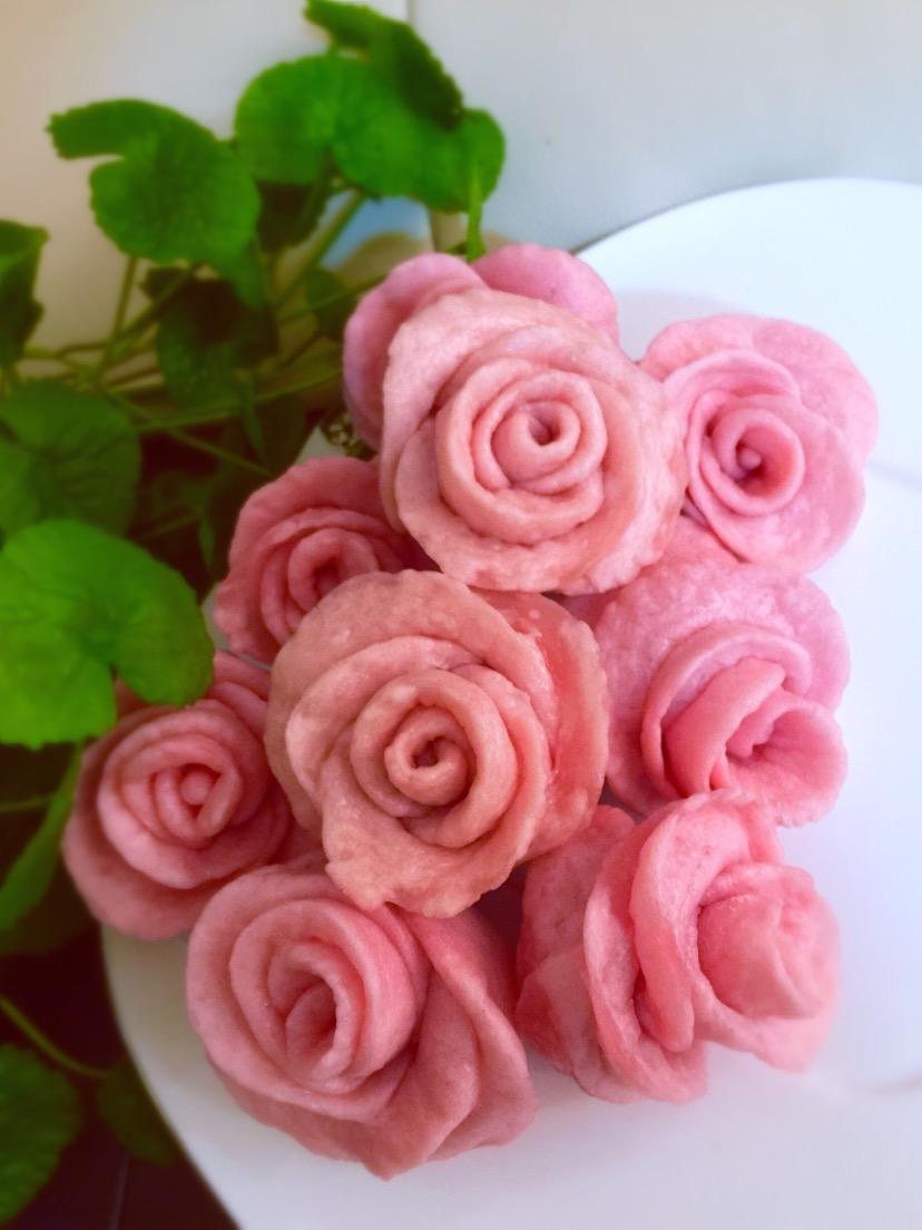 玫瑰馒头_玫瑰馒头