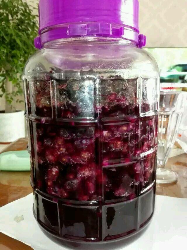 炒菜煲汤临锅时加入提鲜不口干 自制葡萄酒的做法步骤 4.