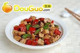 豉椒炒豆腐的做法