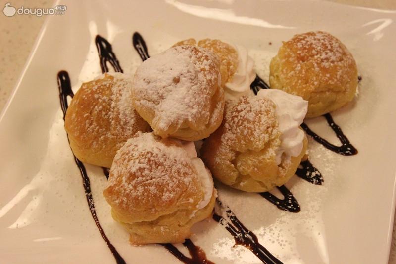 奶油泡芙的做法_【圖解】奶油泡芙怎麼做好吃_美味 ...
