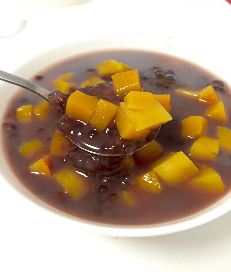 夏日甜品红豆椰汁西米露(南瓜)的做法_【图解】夏日露