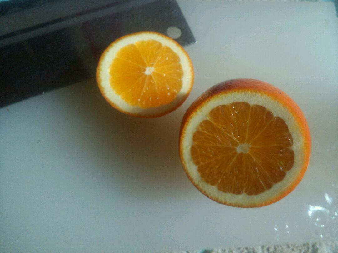 盐蒸橙子的做法 !-- 图解2