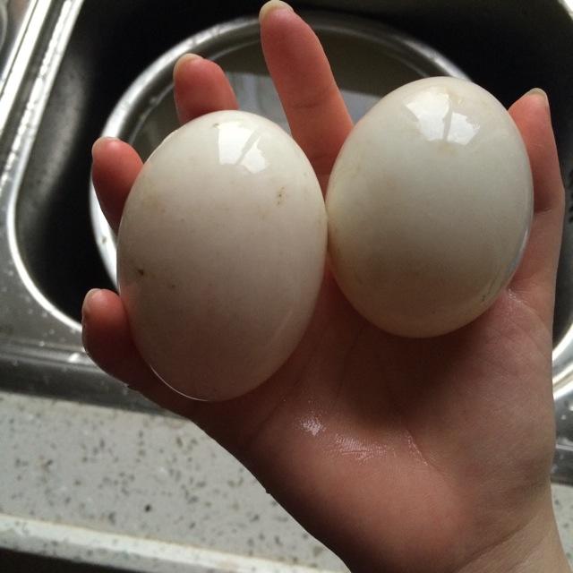 火腿鸭蛋的做法图解1
