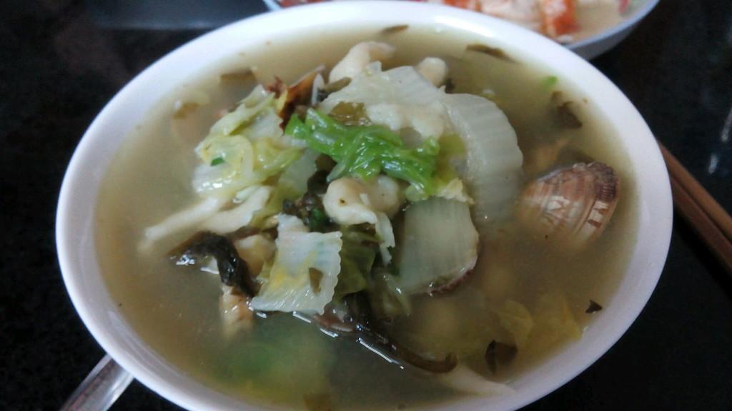 图解 鱼汤/立秋的疙瘩面鱼汤