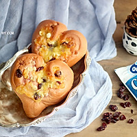 """爱心面包#享""""美""""味#"""