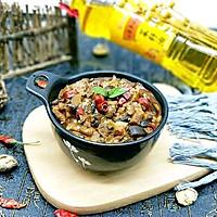 香菇辣酱#金龙鱼外婆乡小榨菜籽油,我要上春碗#
