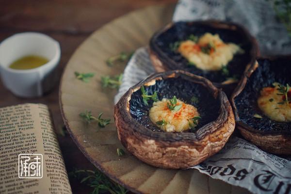 里昂黄油法香碎烤牛排菇,好吃的没道理!的做法