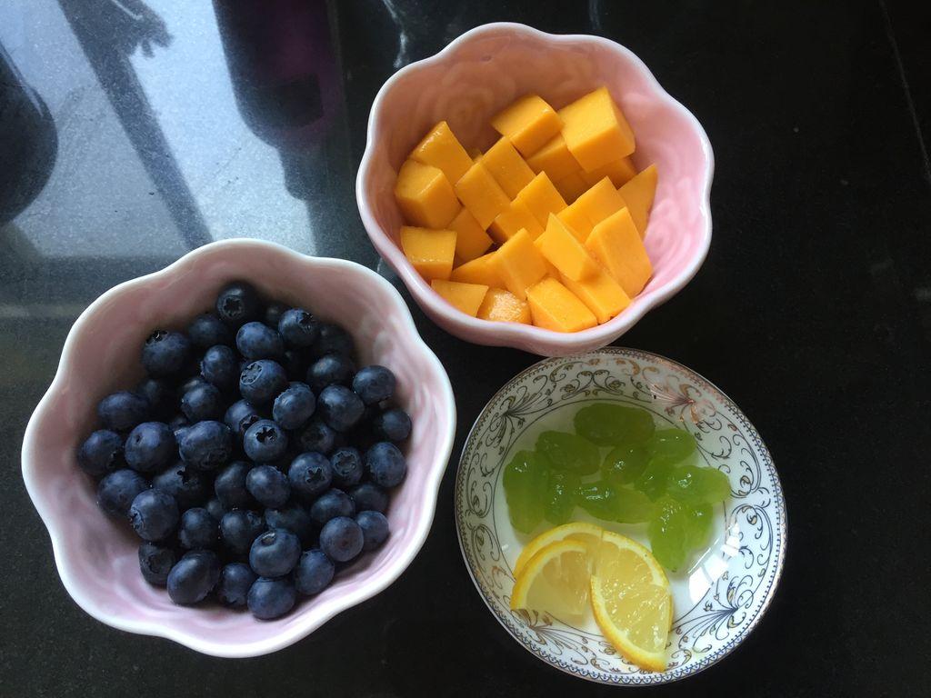 缤纷水果饮#七彩七夕#的做法步骤