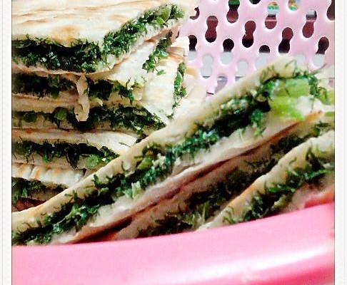 茴香菜饼的做法_【图解】茴香菜饼怎么做好吃