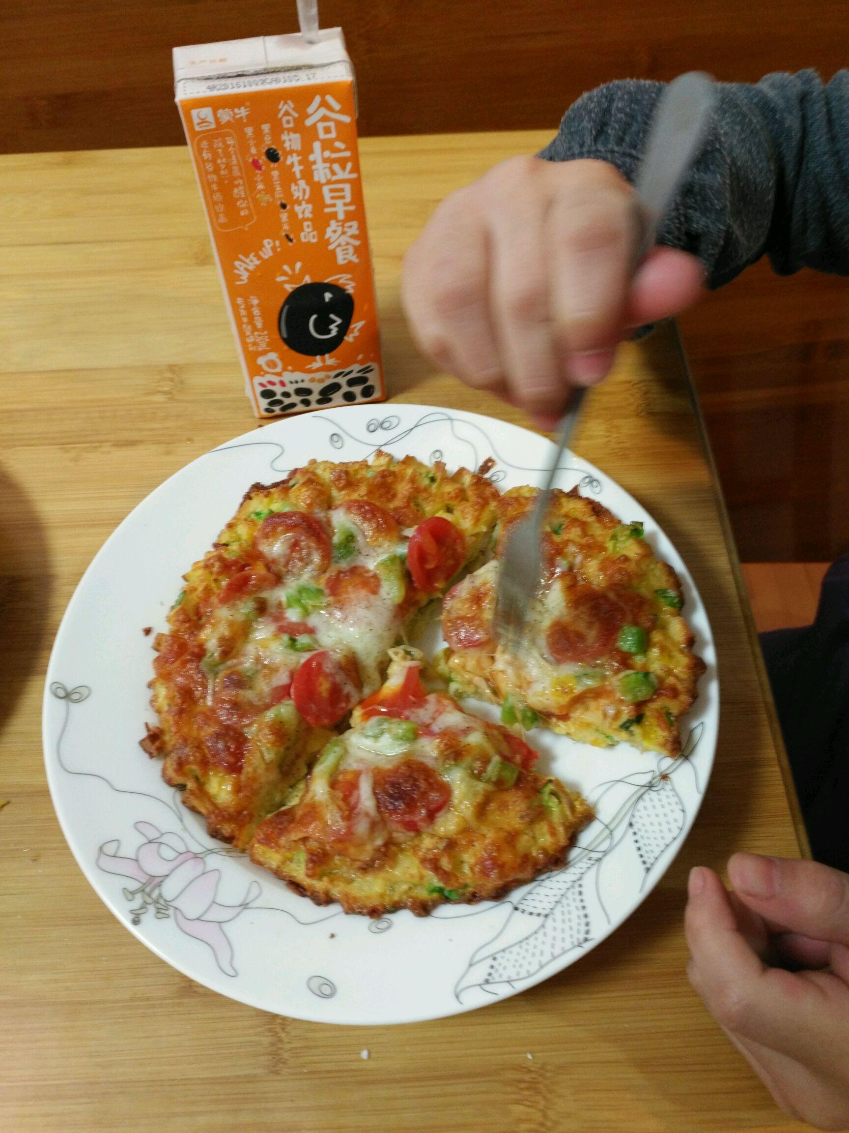 剩饼披萨的做法图解7