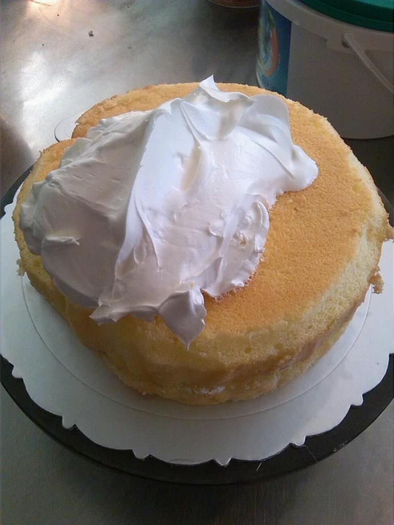 生日蛋糕的制作的做法图解1