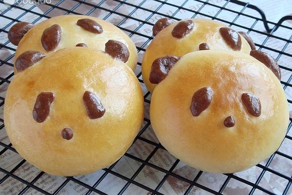 熊猫面包的做法