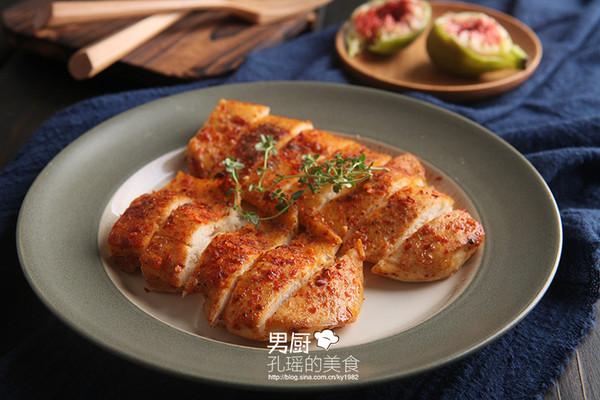 辣味鸡胸条的做法