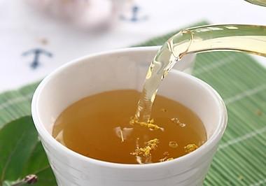 三伏天喝热茶----荷叶木樨茶