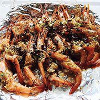 蒜蓉黑椒烤虾
