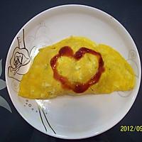 私房 爱心蛋包饭